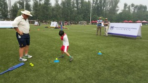 Mike Gatting cricket in China